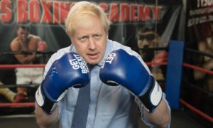 Boris Johnson would be best served by leaving the ring for this fight.