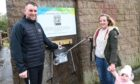 A litter picking station has been installed in Boddam to keep the village clean.