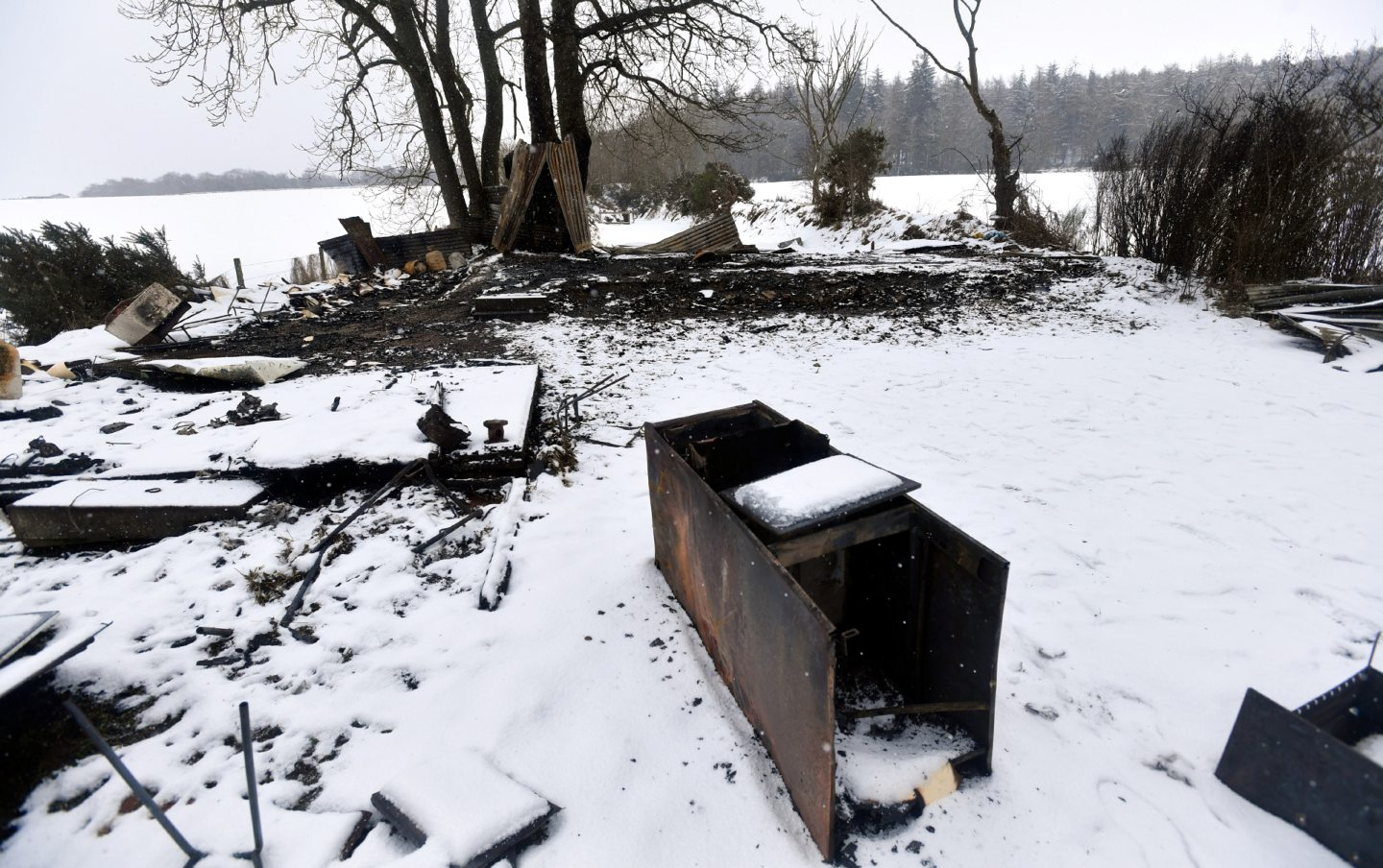 Equipment and buildings at Kemnay Short Bore Rifle Club were torched on Friday evening.