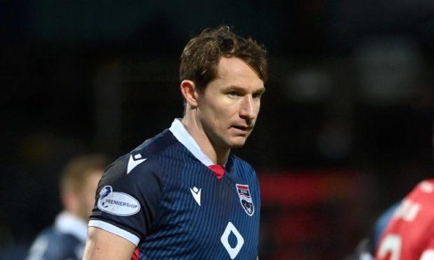 Ross County defender Callum Morris.