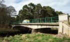 Arthur's Bridge on the B9103 Lossiemouth to Lhanbryde road.