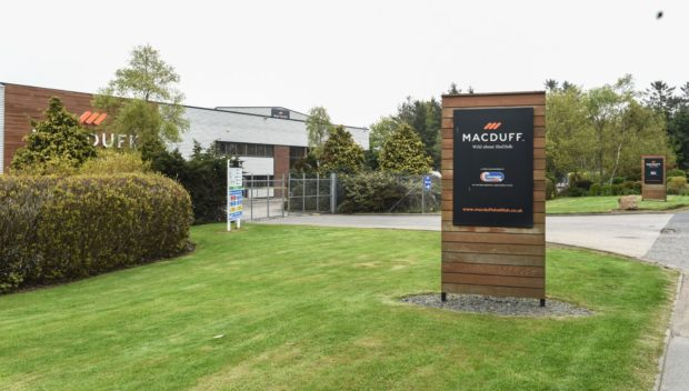 Macduff Shellfish hopes the research will  find a sustainable alternative to woven plastic bait bags.