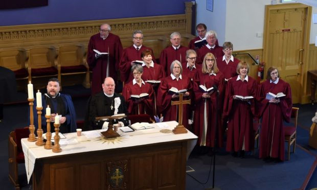 Easter Service at Queen's Cross Church, 2018