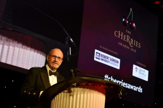 Fred MacAulay hosts the 2018 cHeRries Awards. Picture by KENNY ELRICK     01/06/2018