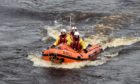 One of Aberdeen's lifeboats. Picture by Kenny Elrick
