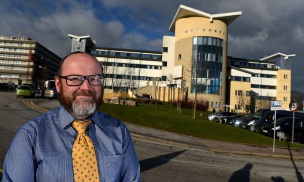 Cameron Matthew, NHS Grampian's deputy chief officer in the acute sector, warns efforts to catch up on the backlog of treatment put on hold during the pandemic is reliant on 'exhausted' staff making use of the next two months of lockdown