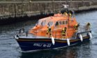The Fraserburgh lifeboat. Picture by Kenny Elrick