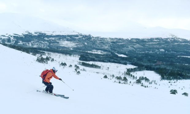 As ski resorts in Scotland remain closed due to Covid many skiers are taking to backcountry skiing and ski mountaineering to make the most of the current great conditions.