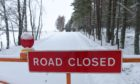 Motorists have been ignoring road closure signs.