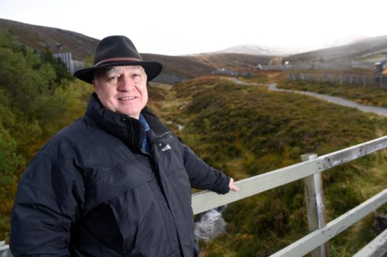 Council convener Bill Lobban in the Cairngorms