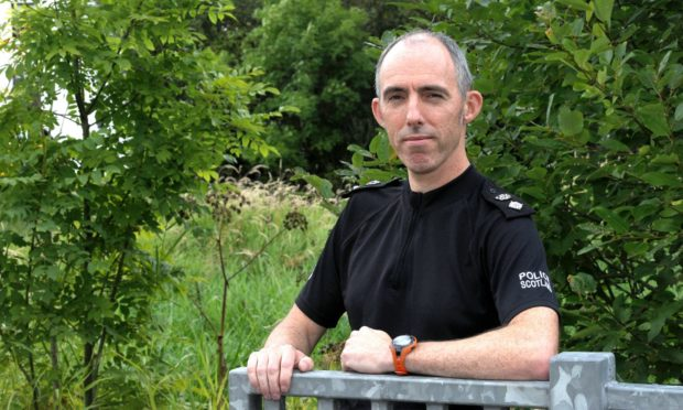 Chief Superintendent George Macdonald, north-east area police commander.