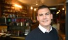 Scott Murray, Managing Director of CRU Holdings, owners of 'Scotch and Rye' and 'Bar One' bars and restaurants in Inverness.