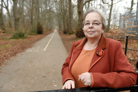 Councillor Trish Robertson, chairwoman of Environment and Infrastructure committee