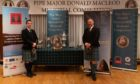 Finlay Johnston (left) and Stuart Liddell, overall 1st and 2nd respectively at the 2019 Donald MacLeod competition