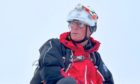 Patterdale Mountain Rescue Team volunteer Chris Lewis, 60, who suffered life-changing injuries when he fell while on a call out to help campers who were breaching lockdown rules in the early hours of Saturday February 6.