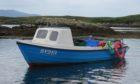 The single-handed creel fishing boat May C.