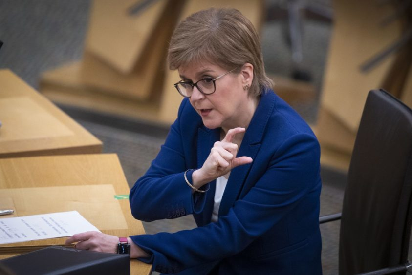 First Minister Nicola Sturgeon is set to give a statement to the Scottish Parliament later today