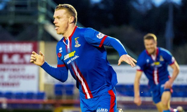 Billy Mckay is pleased to be back at Inverness