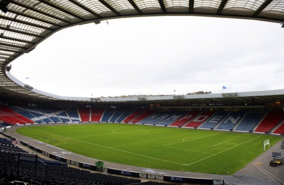 Hampden Park. one of 12 host venues for the European Championships.