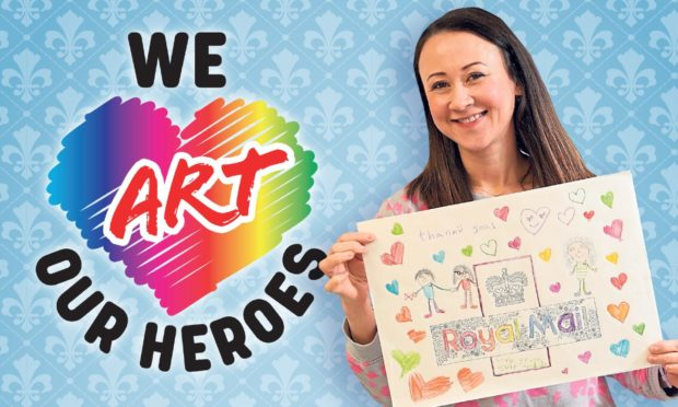 Johanna Basford is supporting our We Art Our Heroes campaign.