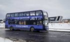 Stagecoach has revealed a new look for the buses taking people to their Covid-19 vaccination.