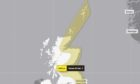 The latest warning will last from midnight on Monday to midday on Wednesday.