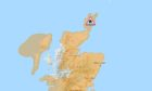 To go with story by Cheryl Livingstone. Flood alerts for Scotland Picture shows; Flood alerts for Scotland. n/a. Supplied by Sepa Date; 14/02/2021