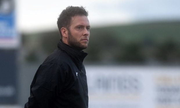 Formartine United manager Paul Lawson is aiming high for the new season. Picture by Darrell Benns