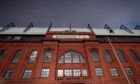 Ibrox Stadium, home of Rangers Football Club.
