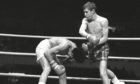 Ken Buchanan recorded an emphatic points victory over Ruben Navarro in Los Angeles on February 12 1971.