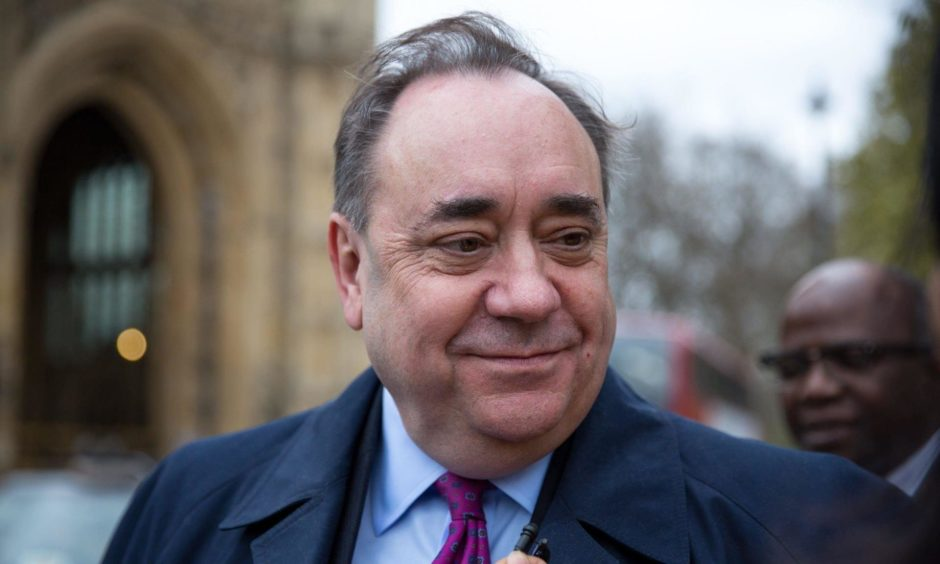 Former first minister Alex Salmond is expected to hold a press conference in the near future.