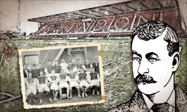 James Munro was the first paid captain to play for Swindon Town where he remains a hero.