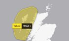 Wind weather warning