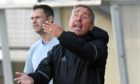 Jim McInally wants Peterhead to look up the table rather than down.