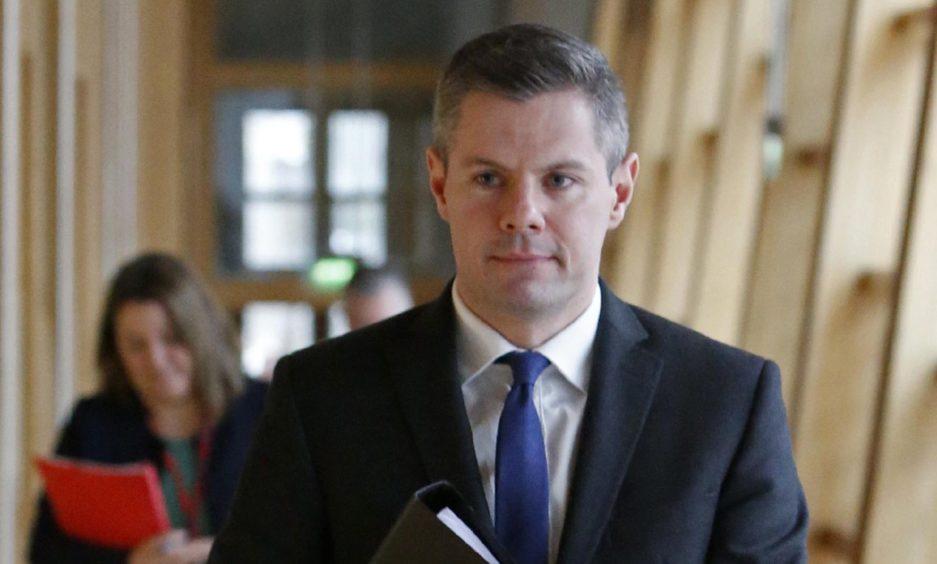 Derek Mackay has resigned from the SNP