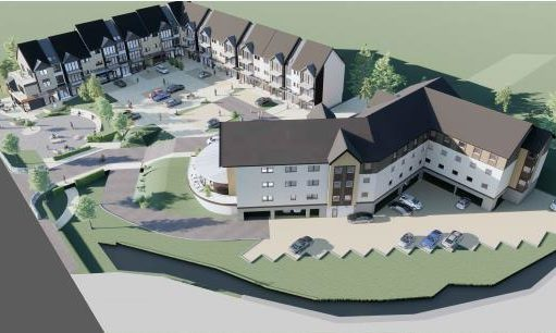 Upland Developments Ltd are seeking full planning approval for the construction of a hotel and apartment complex in the heart of Aviemore.
