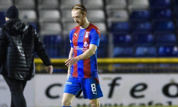 Caley Thistle midfielder David Carson.