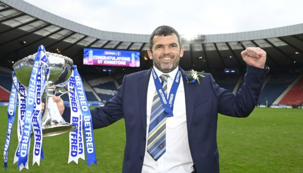 Callum Davidson led St Johnstone to a League Cup triumph this season and has a Scottish Cup final against Hibs to look forward to this month.