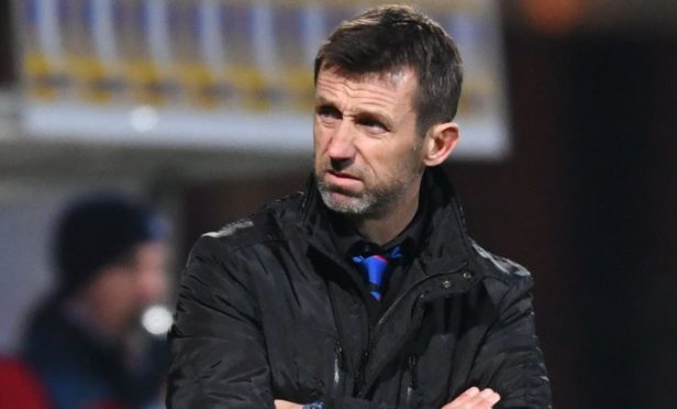 Caley Thistle interim manager Neil McCann.