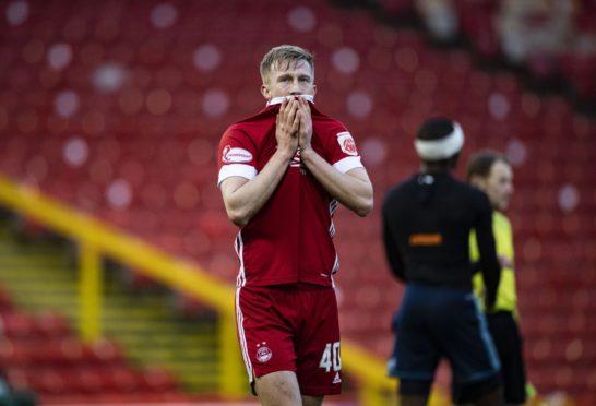 Aberdeen's Ross McCrorie.