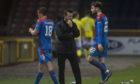 Interim Caley Thistle manager Neil McCann at full time.