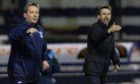 Billy Dodds (left) and Neil McCann.