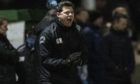 Buckie Thistle manager Graeme Stewart during the Scottish Cup tie with Inverness.
