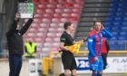 New Inverness signing Scott Allan comes off the bench to make his debut.