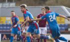 Ross County's local rivals Caley Thistle will spend another season in the second tier.
