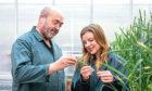 FIELD TRIALS: Professor Nigel Halford and Sarah Raffan of Rothamsted Research.