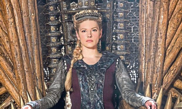Katheryn Winnick plays Lagertha in the hit TV show 'Vikings'.