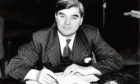 'WELL DONE, BOYO': Aneurin 'Nye' Bevan, a Welsh Labour politician, was the health minister responsible for the formation of the NHS.
