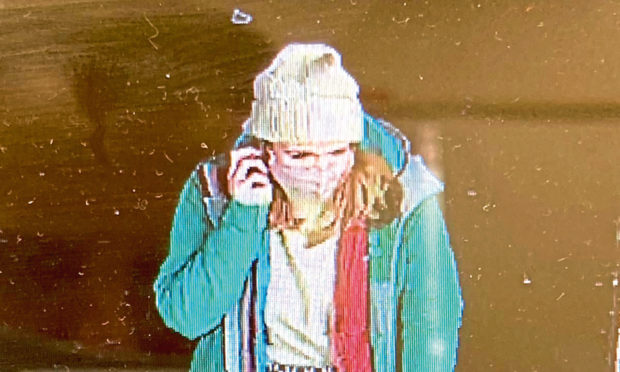 CCTV image of Sarah Everard
