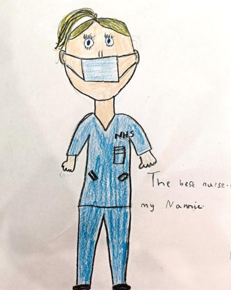 065 Emmi Spence Age: 7, Stuartfield The best nurse is my nannie
